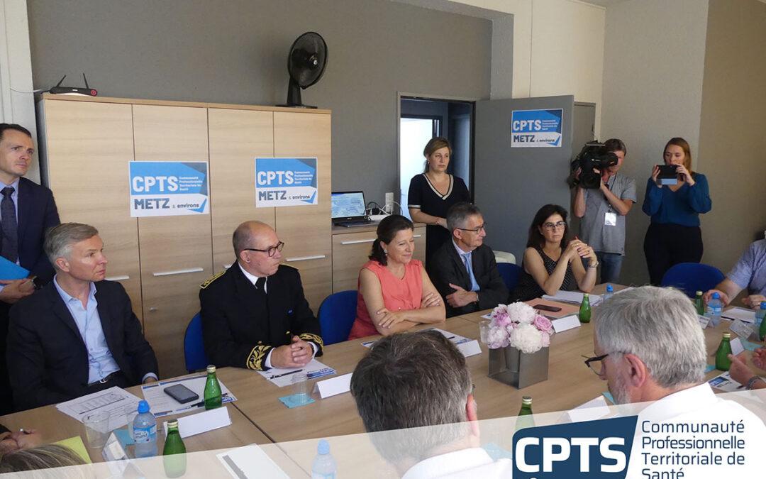 Visite de Madame Agnès Buzin, Ministre des solidarités et de la santé