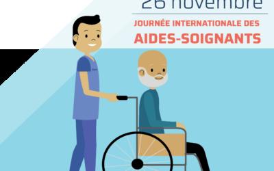 26 novembre | Journée internationale des aides-soigants