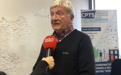 Bonjour chez vous : la CPTS Metz et environs en reportage sur Public Sénat