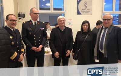 Cérémonie des vœux à l'Hôpital d'Instruction des Armées Legouest à Metz