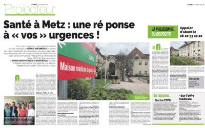 Presse | Santé à Metz : une réponse à vos urgences