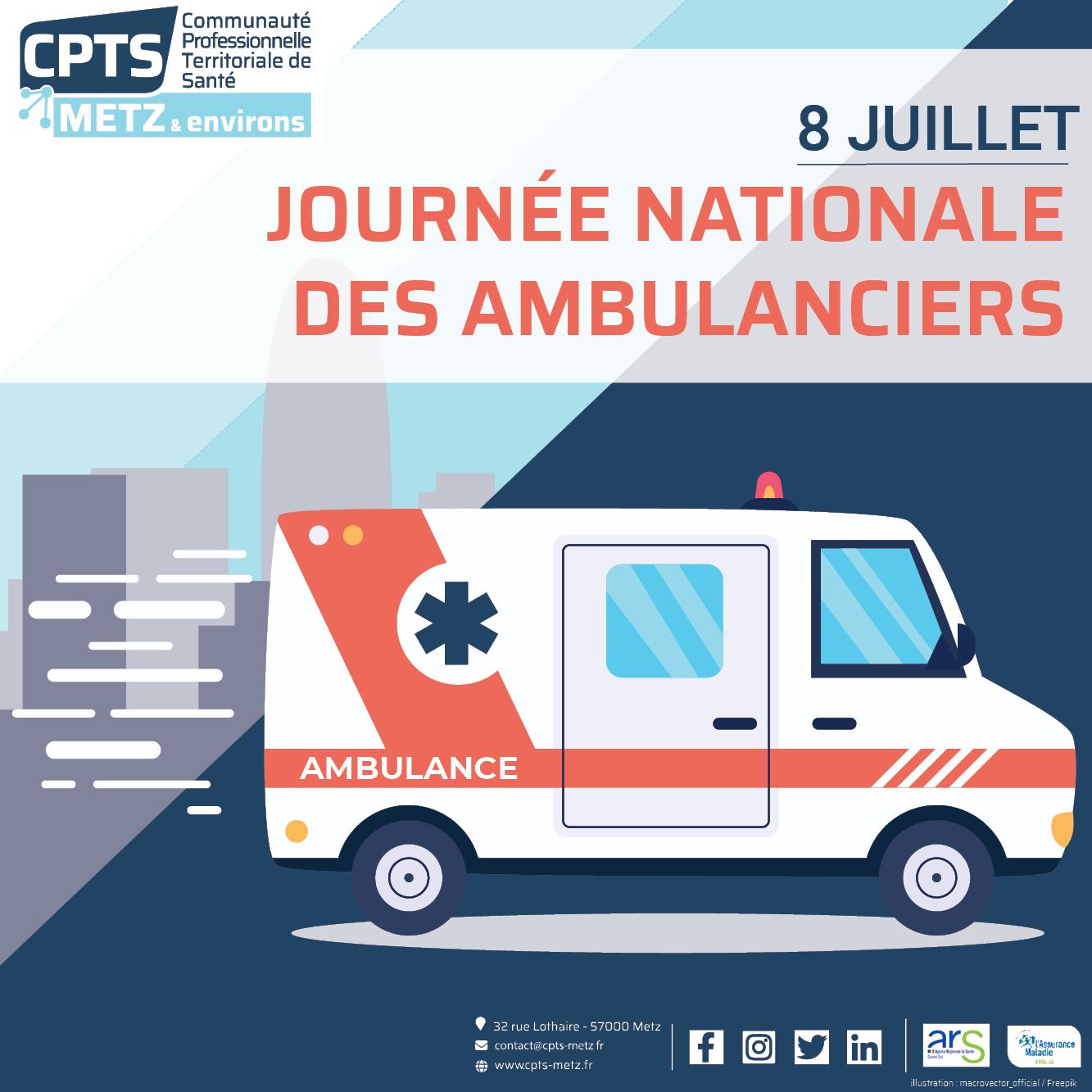 Image -  journée nationale des ambulanciers