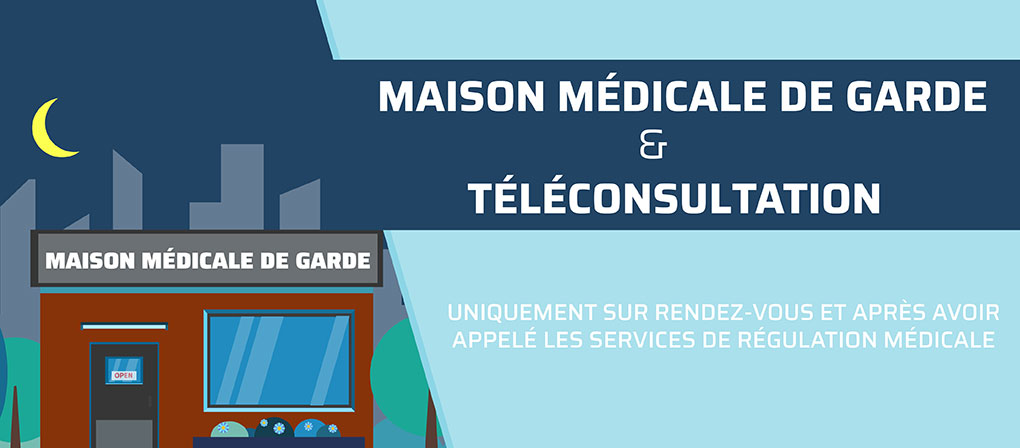Bouton - Maison médicale de garde
