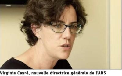 Virginie Cayré Nouvelle Directrice Générale de l'ARS Grand Est