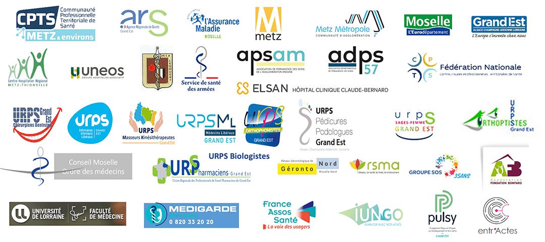 partenaires de la CPTS Metz et environs