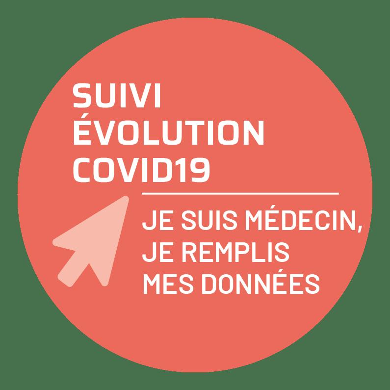 Bouton suivi covid19